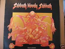 BLACK SABBATH sabbath bloody sabbath GATEFOLD WWA + ins