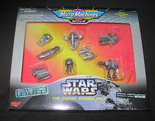 Star Wars Micro Machines Empire Strikes Back Ships Mint in Box 1995 Galoob
