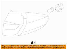 FORD OEM 11-13 Fiesta-Taillight Tail Light Lamp Assy Right BE8Z13404A