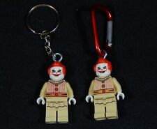 Horror Movie Minifig Keychain Back Pack Clip It Ring Jigsaw FAST USA SHIP