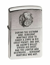 ACCENDINO ZIPPO MILITARY BULLET Lighter Fiamma Collezionismo Vietnam MADE IN USA