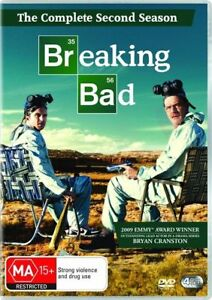BREAKING BAD Season 2 DVD (SET) Second Series Two - BRAND NEW & SEALED