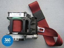 NEW GENUINE BENTLEY CONTINENTAL GT LEFT FRONT RED SEAT BELT NEAR 3W2857705ESFT