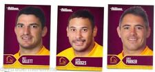 Brisbane Broncos Set NRL & Rugby League Trading Cards