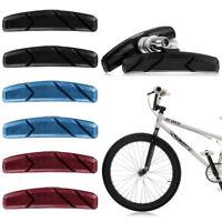 1 Pair Mountain Bike Bicycle Cycling Abrasive Rubber V-Brake Shoes Pads Blocks