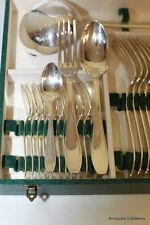Ménagère Métal argenté Fourchettes Cuillères (grande et petite) Louche 37 pièces