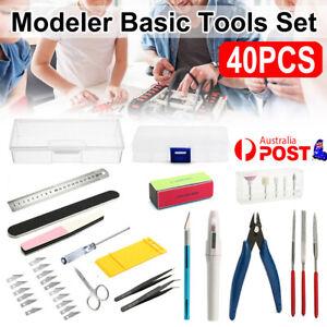 40PCS Basic Tools Craft Set For Hobby Model Building Kit Grinding FOR GUNDAM  AU