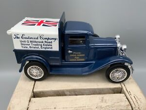Ford Pickup Truck 1931 Die Cast Bank, 1/25 Scale, Eastwood Co., 1992