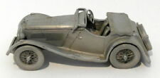Danbury Mint Pewter - approx 1/43 scale - 1936 Jaguar SS/100
