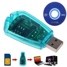 USB Sim Card Reader Writer Copy Backup Clone GSM CDMA WCDMA Backup Useful JIU