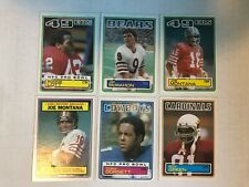 1983 Topps Football lot - 205 cards. Montana, McMahon Rc, other stars