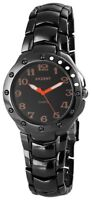 Akzent Herrenuhr Schwarz Orange Titan-Look Analog Armbanduhr XSS7671200040