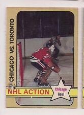 1972-73 OPC #196 TONY ESPOSITO NHL ACTION CHICAGO BLACK HAWKS O-PEE-CHEE