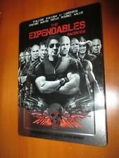 The Expendables (Blu-ray/DVD, 2010) G1-Sized FUTURESHOP STEELBOOK! EX+