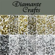 Metallic Gold Silver Jewellery Making Beads