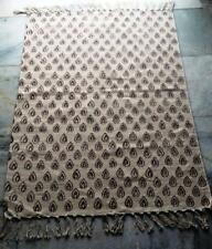 Vintage Turkish Hand Woven Flat Weave Cotton Kilim Rug / wall hanging