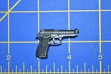 "1/6 scale Black Handgun Gun Pistol Weapon for 12"" Action Figures W-209"