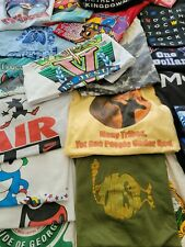 Wholesale Reseller Bundle Lot Of 10 Vintage T Shirts All 20+ Yrs Old! Choice Sz