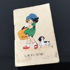 Calendrier Miniature 1931 ART DECO French Calendar Almanach