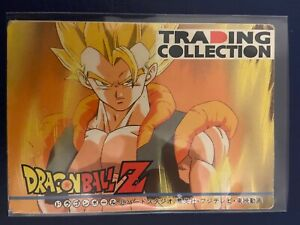 Check List Memorial N°1 #1 Dragon Ball DBZ Trading Collection Made In Japan 1995