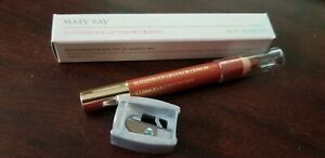 Mary Kay Waterproof Lip Crayon - Cosmopolitan Caramel - RARE - With Sharpener
