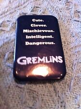 "NOS 1984 ""GREMLINS"" THE MOVIE LAPEL BUTTON"