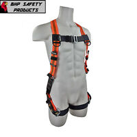 FALL PROTECTION UNIVERSAL SIZE SAFETY HARNESS W/ GROMMET LEGS SAFEWAZE FS99185-E
