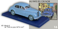 Car Tintin Atlas N°60 the Morris to / Of Pays De L'Or Black + Box Certificate