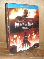 Attack on Titan: Part 1 (Blu-ray/DVD, 2014, 4-Disc Set)
