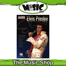 New Elvis Presley Music Book for Vocal & Piano - Original Keys for Singers