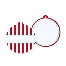 Candy Cane Red Striped Styling Gift Party Bag Tags - Paper Eskimo