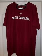 South Carolina Gamecocks Mens Under Armour T-Shirt Size XL New Garnet