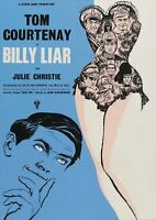 "Reproduction ""Billy Liar"", Film Poster, British Kitchen Sink,  Home Wall Art"