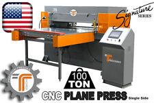NEW!! CJRTec 100 Ton CNC Plane Press