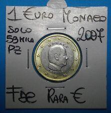 1 €URO MONACO 2007(2) FDC uncirculated RARISSIMA SOLO 60mil pz COMPRA  SUBITO
