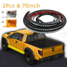 "2pc 70""White/Amber(yellow-orange) Switchback/Light Strip Running Board Led Light"