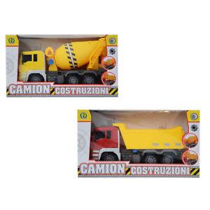 Camion giocattolo betoniera o rimorchio ribaltabile a frizione Giocattolo 3+