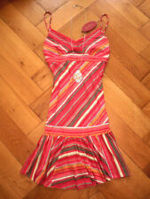 EDC by ESPRIT KLEIDCHEN ROMANTIK BOHO VOLANTS HIPPIE BLOGGER S M NEU!! TOP!!