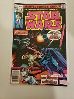 """Star Wars #6 Newsstand last issue of """"A New Hope""""  1st Print"""