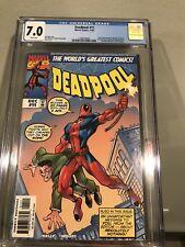 Deadpool 11 CGC 7.0 Marvel Comics 1997 Amazing Fantasy 15 homage cover