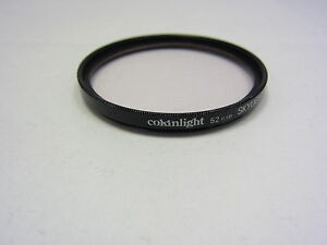 Used COKINLIGHT 52mm SKYLIGHT 1A Lens Filter Made in FRANCE (Scratched) 6420042