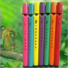 5/set Mini Bird Flute Novelty Bird Calls Musical Instrument Funy Whistle Lb