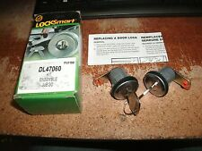 NEW 1985 - 1988 CHEVROLET SPRINT DOOR KEY AND LOCK CYLINDER SET KIT NEW DL47060
