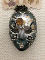 Vintage Very rare La Maschera Del Galeone Mask Hand Made Italy charmin collector