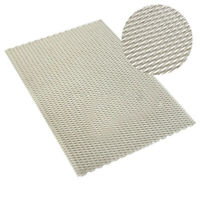 Titanium Metal Grade Mesh Perforated Diamond Holes Expanded 300x200x0.5mm US
