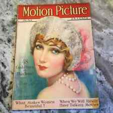 Original June 1927 Motion Picture Magazine Movie Star Gildo Gray On Cover