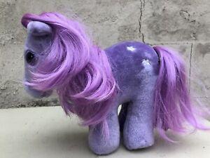 Hasbro Softies My Little Pony Purple Blossom Toy Plush Vintage Retro 80 Lavender