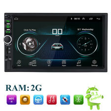 7 Inch 2DIN Android 9.1Car FM Stereo Radio MP5 Player Touch Screen GPS/USB/AUX
