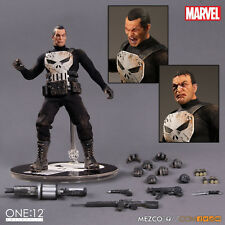 Genuyine Authentic The Punisher (Marvel) One:12 Collective Action Figure Mezco