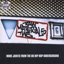 Raw Materials 2 (UK Hip Hop Underground, 2000) Last Men Standing, Doc Bro.. [CD]